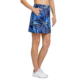 Alternate View 1 of Palm Springs Collection: Darby Frayed Frond Pull On Skort
