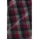 Alternate View 3 of Plainview Maroon Grey Black Check Dress Shirt
