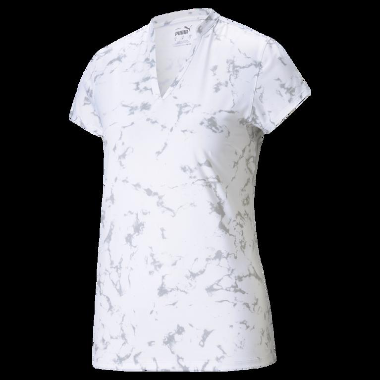 Cloudspun Short Sleeve Marbled Polo Shirt