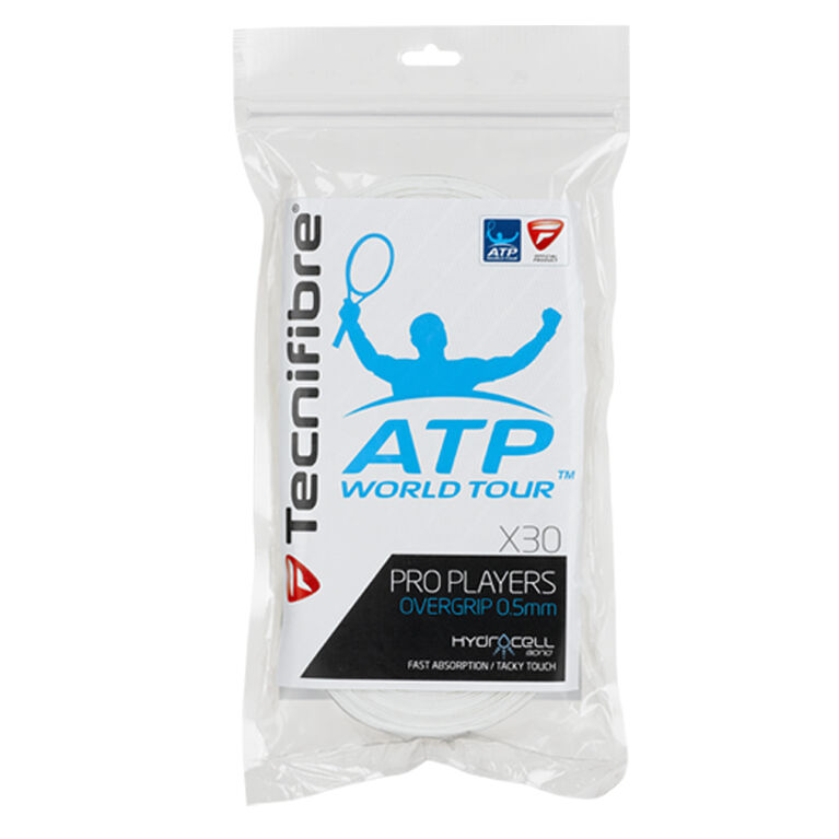 Tecnifibre Pro Players Overgrip ATP 2013 30 Pack White