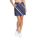 Alternate View 1 of Aspen Ray Collection: Darby Diagonal Striped Skort