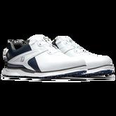Alternate View 3 of Pro SL Carbon BOA Men's Golf Shoe - White/Navy