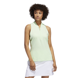 Minted Blues Collection: Sporty Sleeveless Polo Shirt
