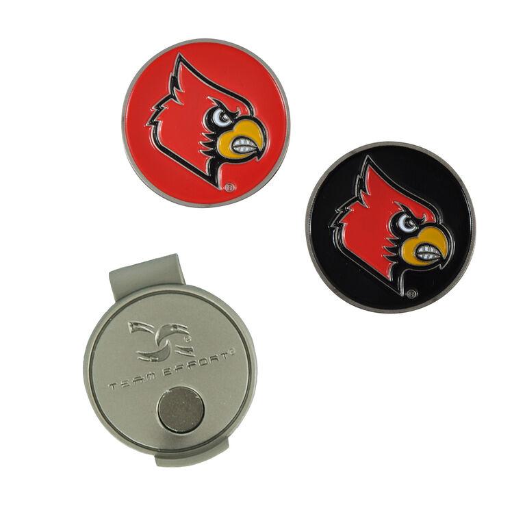 Team Effort Louisville Cardinals Hat Clip