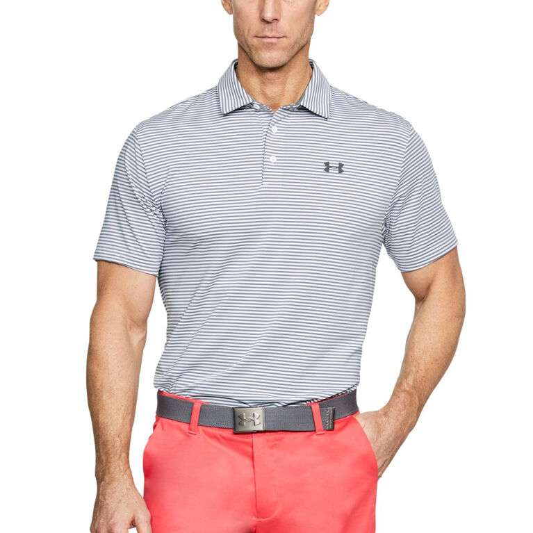 Under Armour Stripe Playoff Polo