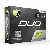 Alternate View 2 of DUO Optix NFL Golf Balls - Green Bay Packers