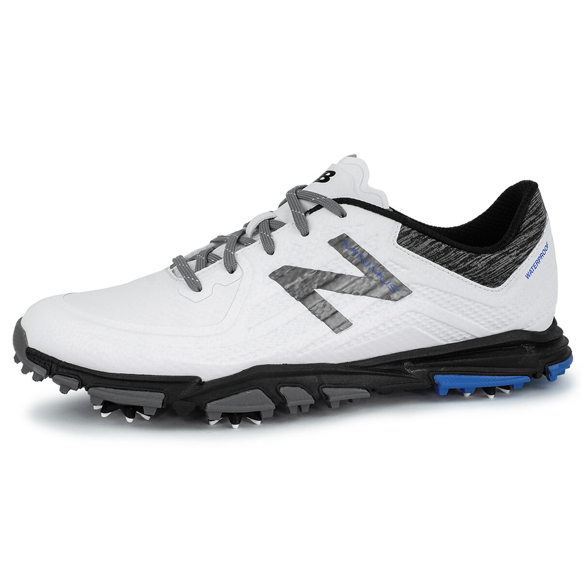 7617648fe New Balance Minimus Tour Men s Golf Shoe - White Black