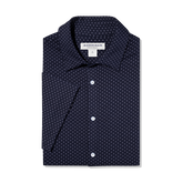 Alternate View 3 of Spinnaker Dot Print Short Sleeve Dress Shirt