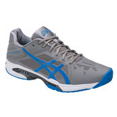 Asics GEL-Solution Speed 3 Men's Tennis Shoe - Grey/Blue