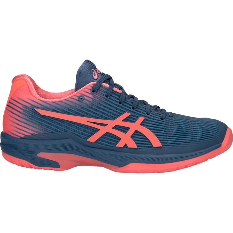 Solution Speed FF Women's Tennis Shoe - Navy/Pink