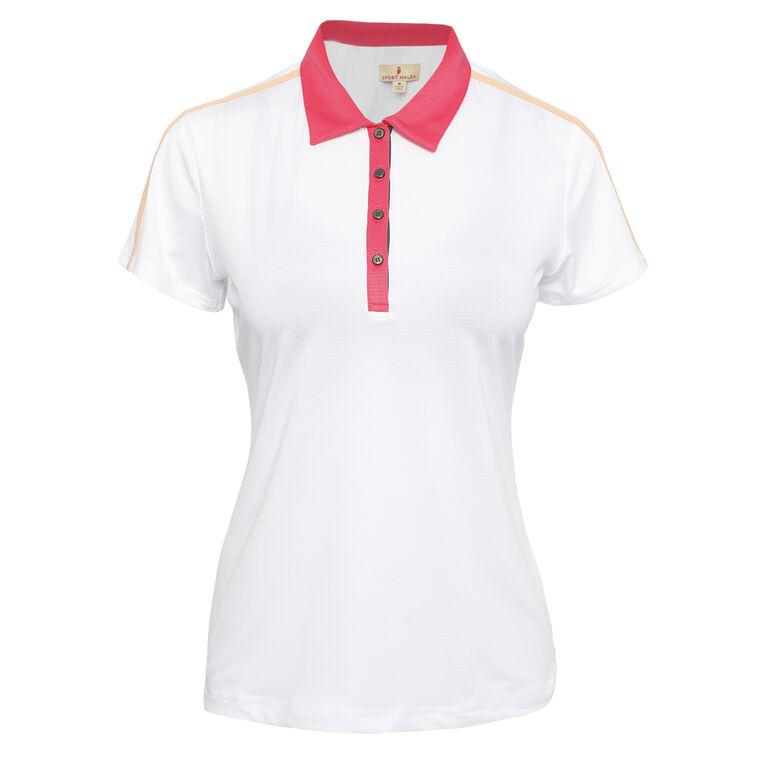 Outside The Lines: Gigi Short Sleeve Polo