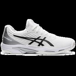 Solution Speed FF Men's Tennis Shoes - White/Black