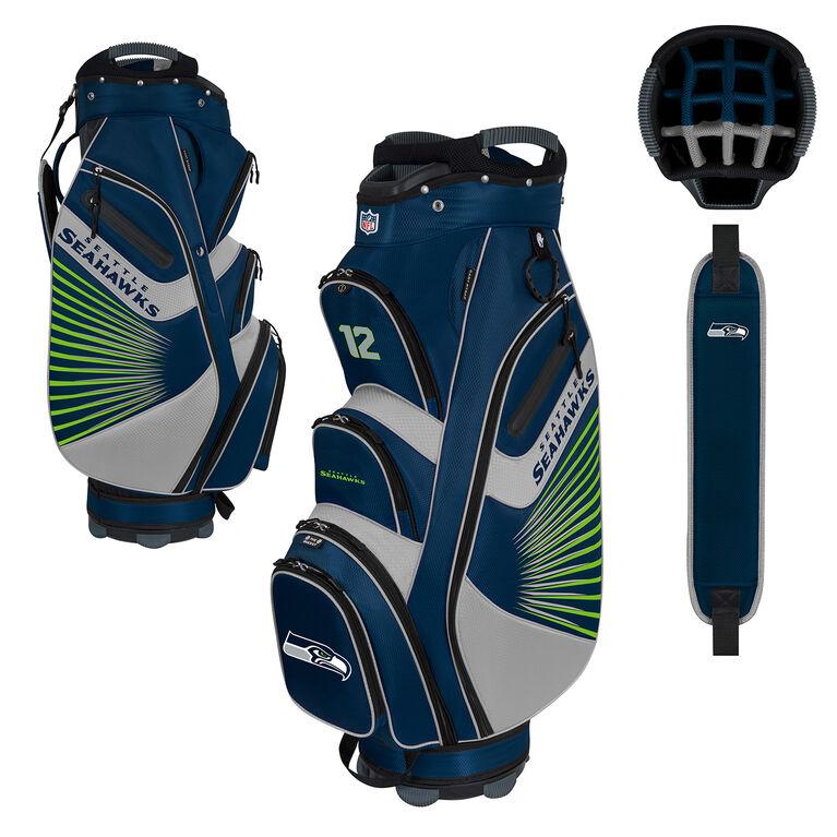 NFL Seattle Seahawks Bucket II Cooler Cart Bag