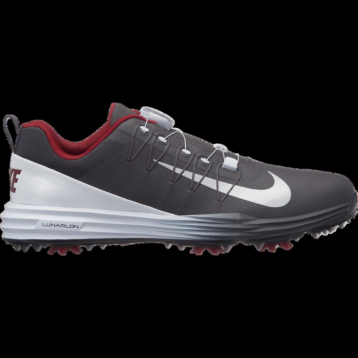 best loved dc7c3 0fdc9 Nike Lunar Command 2 BOA Men's Golf Shoe - Grey/White Zoom Image