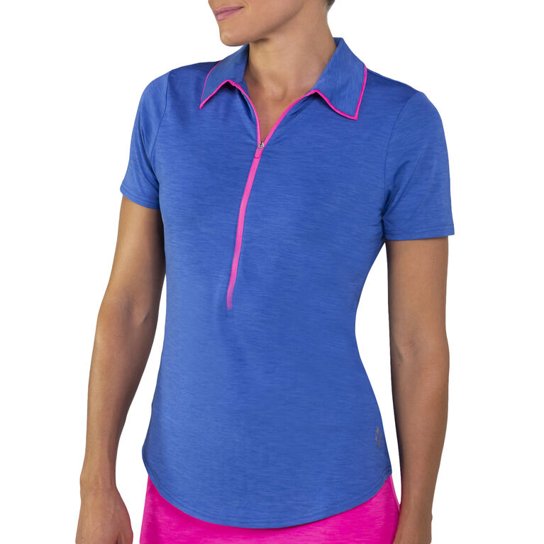 Jofit Tipped Melange Polo