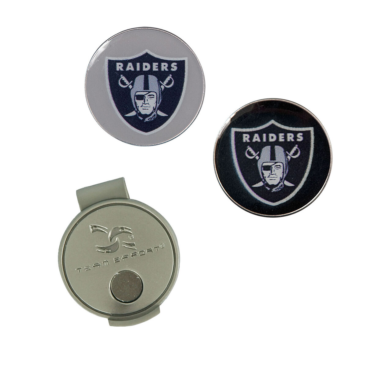 9b4c1da7 Team Effort Oakland Raiders Hat Clip & Ball Marker
