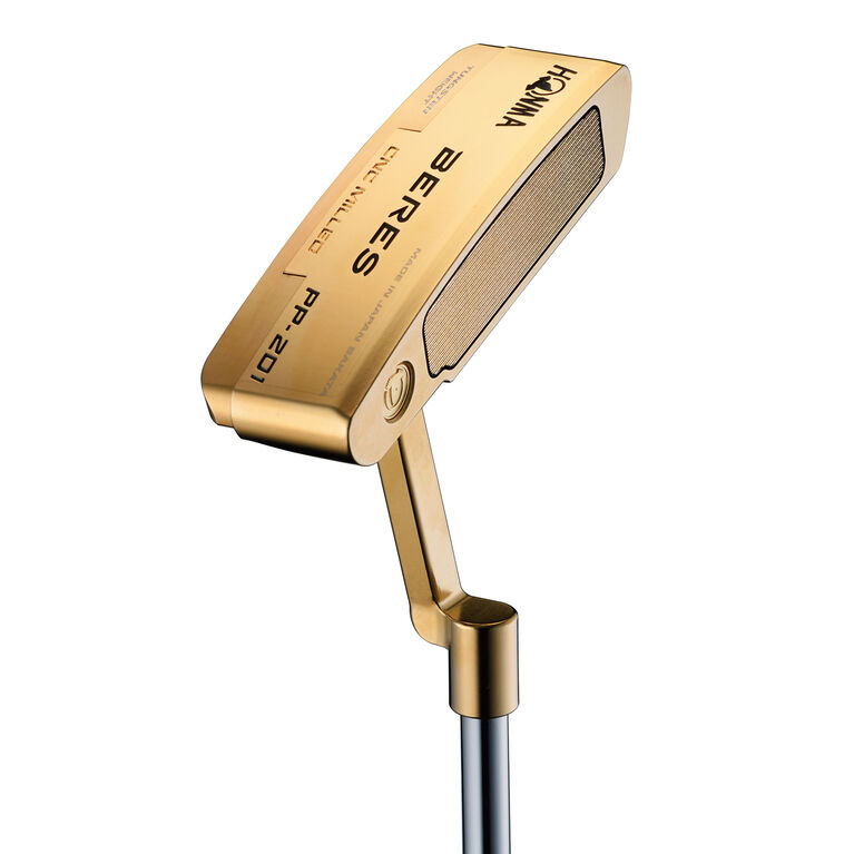 Honma PP-201 Gold Plated Putter