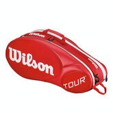 Wilson Tour Red 6 Pack