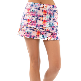 Tie Dye Summer Vibe Scallop Skirt
