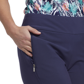 Alternate View 1 of Tropical Collection: Pull On Capri Pants
