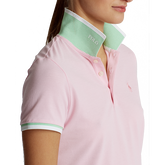 Alternate View 2 of Printed Collar Short Sleeve Tailored Golf Polo