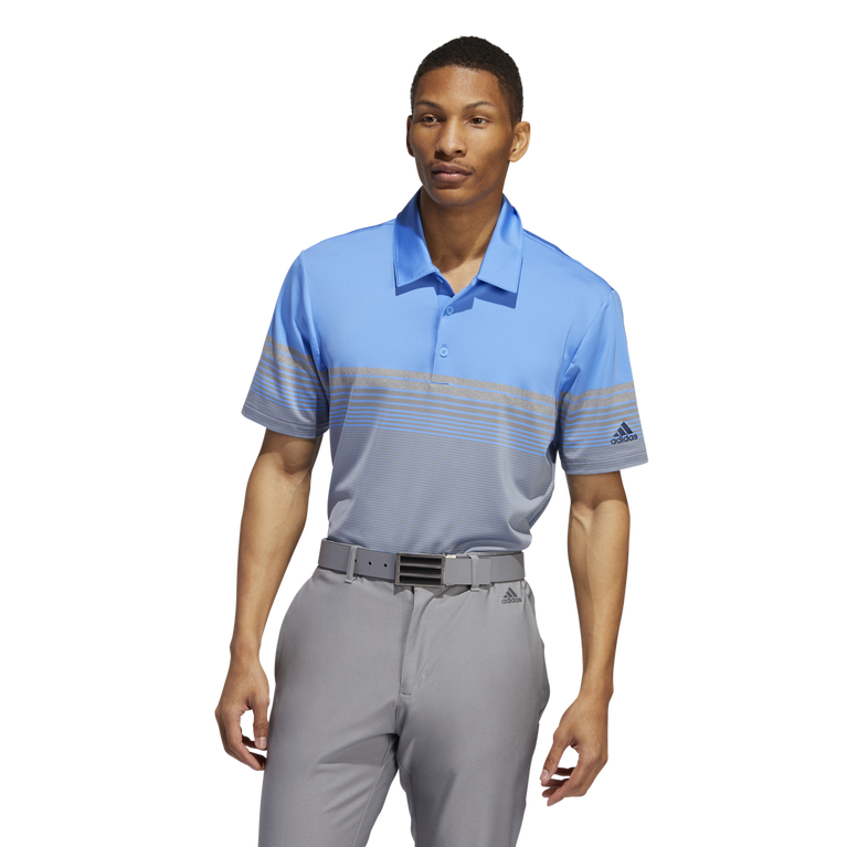 Ultimate Gradient Block Stripe Polo
