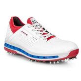 ECCO Cool 18 GTX Men's Golf Shoe - Red/White/Blue