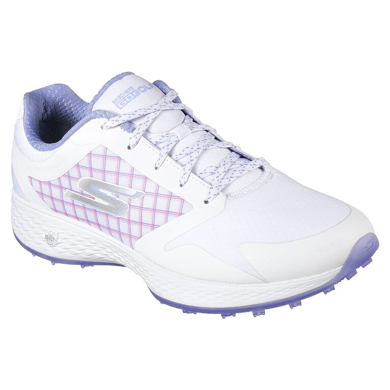 Skechers Go Golf Eagle Rival Women's Golf Shoe - White/Purple