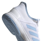 Alternate View 8 of Adizero Club Kids Tennis Shoe - White/Blue