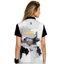 Ultra Group: Short Sleeve Watercolor Print Polo