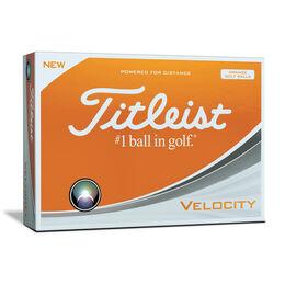 Titleist Velocity Orange Golf Balls - Personalized