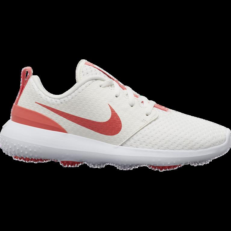 Roshe G Women's Golf Shoe - Cream/Peach
