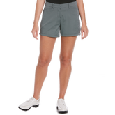 Ditsy Floral Collection: Summer Grid Print Golf Short