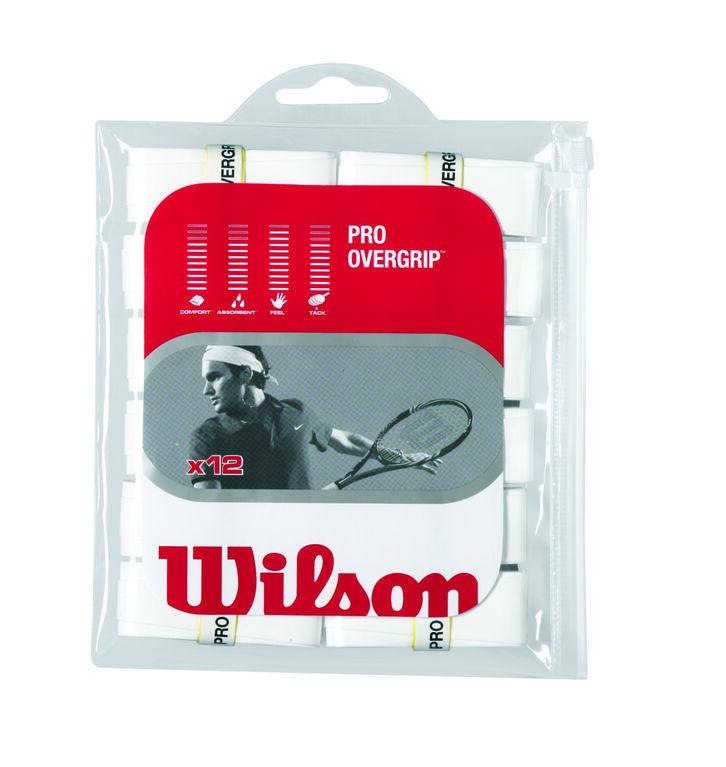 Wilson Pro Overgrip 12 Pack - White