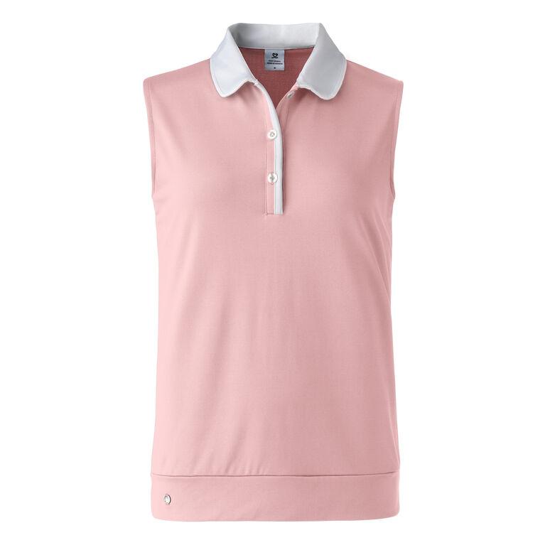 Blush Group: Coleen Sleeveless Polo Shirt
