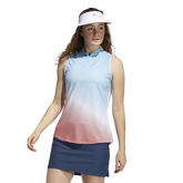Gradient Sleeveless Golf Polo