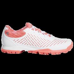 Adipure Sport 2.0 Women's Golf Shoe - White/Pink