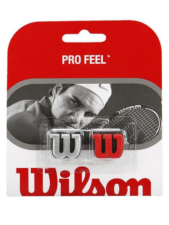 Wilson Pro Feel Dampener- Red/Silver