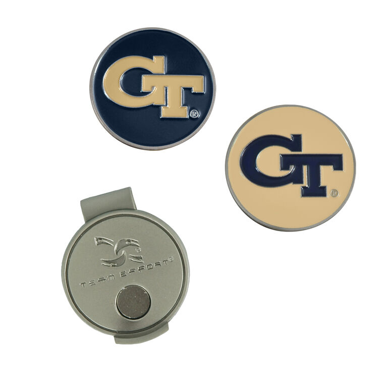 Team Effort Georgia Tech Yellow Jackets Hat Clip