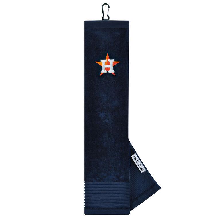 Team Effort Houston Astros Tri-fold Embroidered Towel