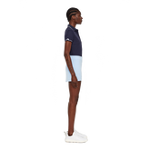 Short Sleeve Leana Lux Pique Polo Side