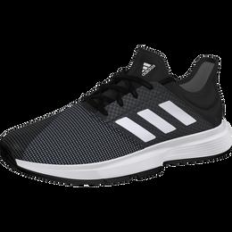 GameCourt Men's Tennis Shoe - Black/White