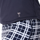 Alternate View 3 of Long Sleeve Mesh Trim Polo Shirt