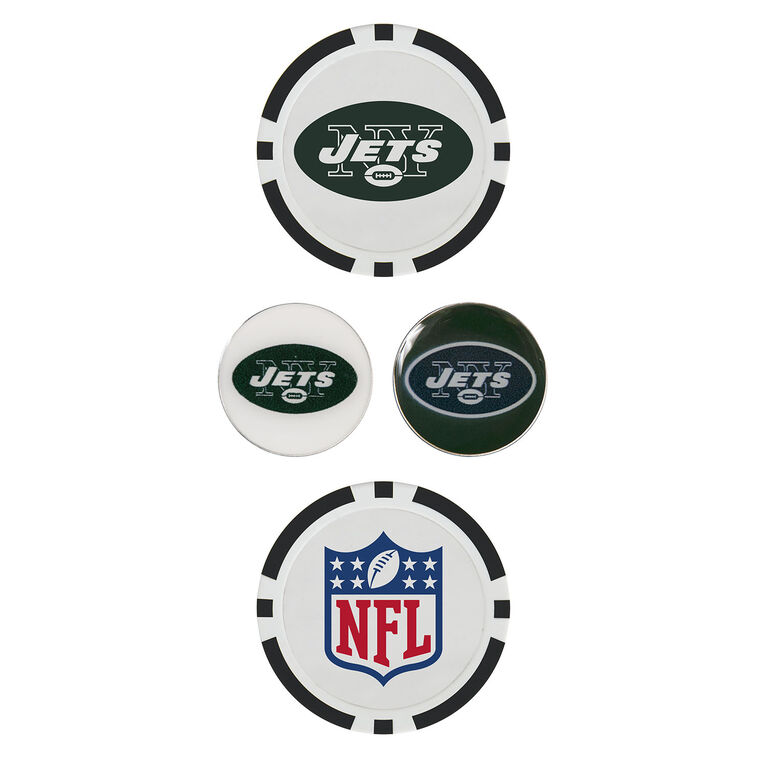 Team Effort New York Jets Ball Marker Set