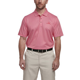 Short Sleeve Houndstooth Gingham Polo