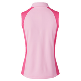 Alternate View 1 of Zenia  Sleeveless Colorblock Polo Shirt