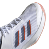Alternate View 9 of Adizero Ubersonic 3 Women's Tennis Shoe - White/Blue