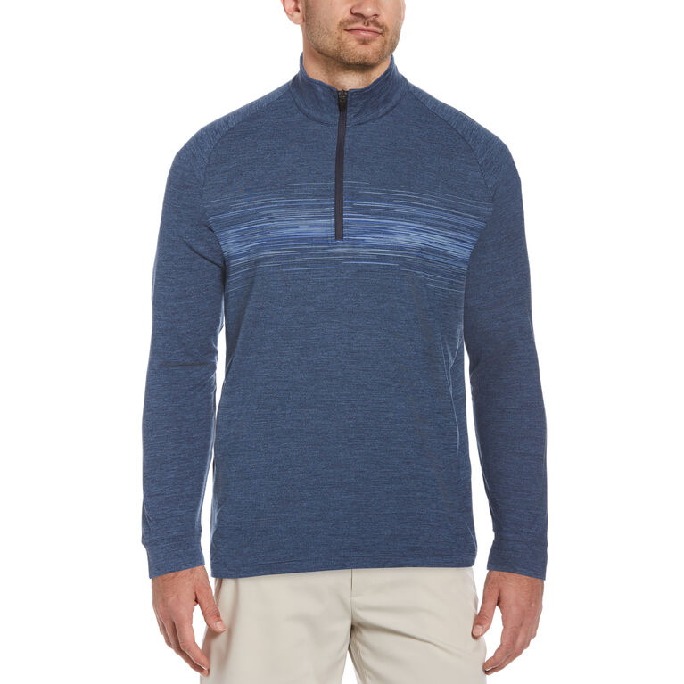 Lux Touch Long Sleeve 1/4 Zip Golf Pullover