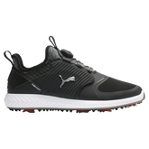 IGNITE PWRADAPT Caged DISC Men's Golf Shoe - Black/Silver