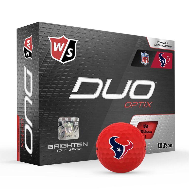 DUO Optix NFL Golf Balls - Houston Texans
